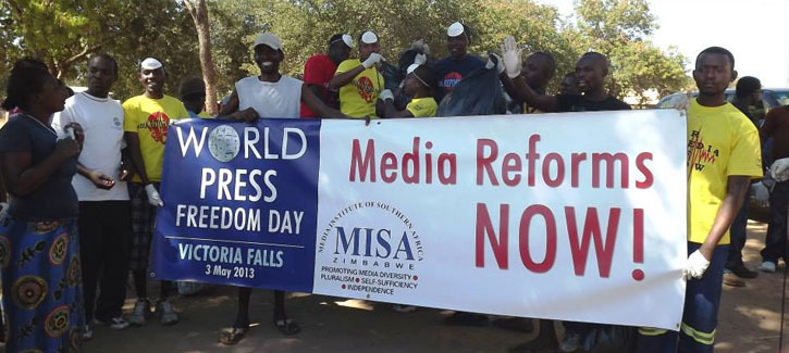 MISA Zimbabwe reflects on 2015 World Press Freedom Day theme