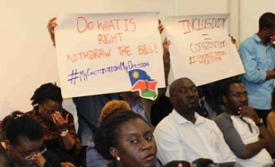 MISA Namibia and Civil Society call for public consultation on Third Constitution Amendment Bill