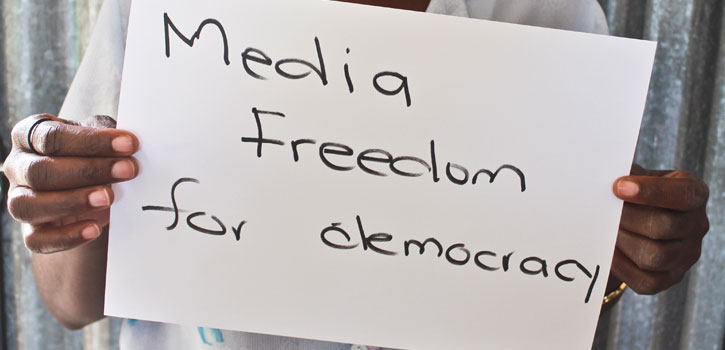 So this is democracy?  State of media freedom in Southern Africa 2013