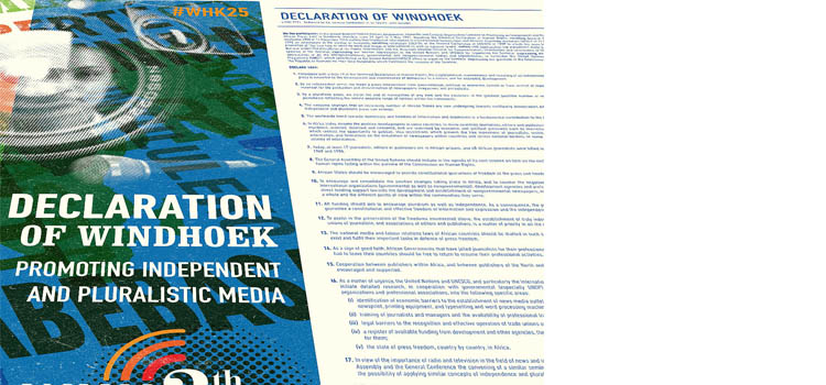 #WHK25:  A DECLARATION THAT STILL PACKS A PUNCH FOR A FREE PRESS