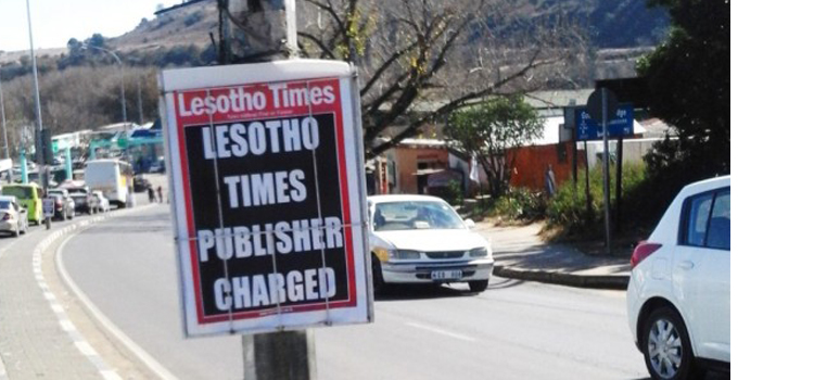Lesotho Times editor faces defamation charges