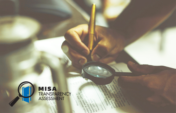 MISA launches its 2017 Transparency Assessment