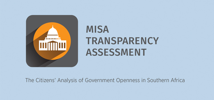 Government's openness in Southern Africa: Transparency Assessment Report 2018