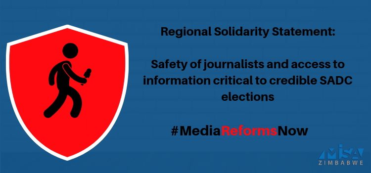 Safety of journalists and access to information critical to credible SADC elections