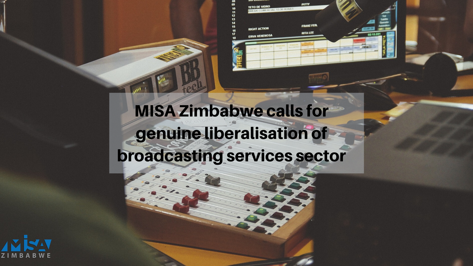 Statement: MISA Zimbabwe calls for genuine liberalisation of broadcasting services sector