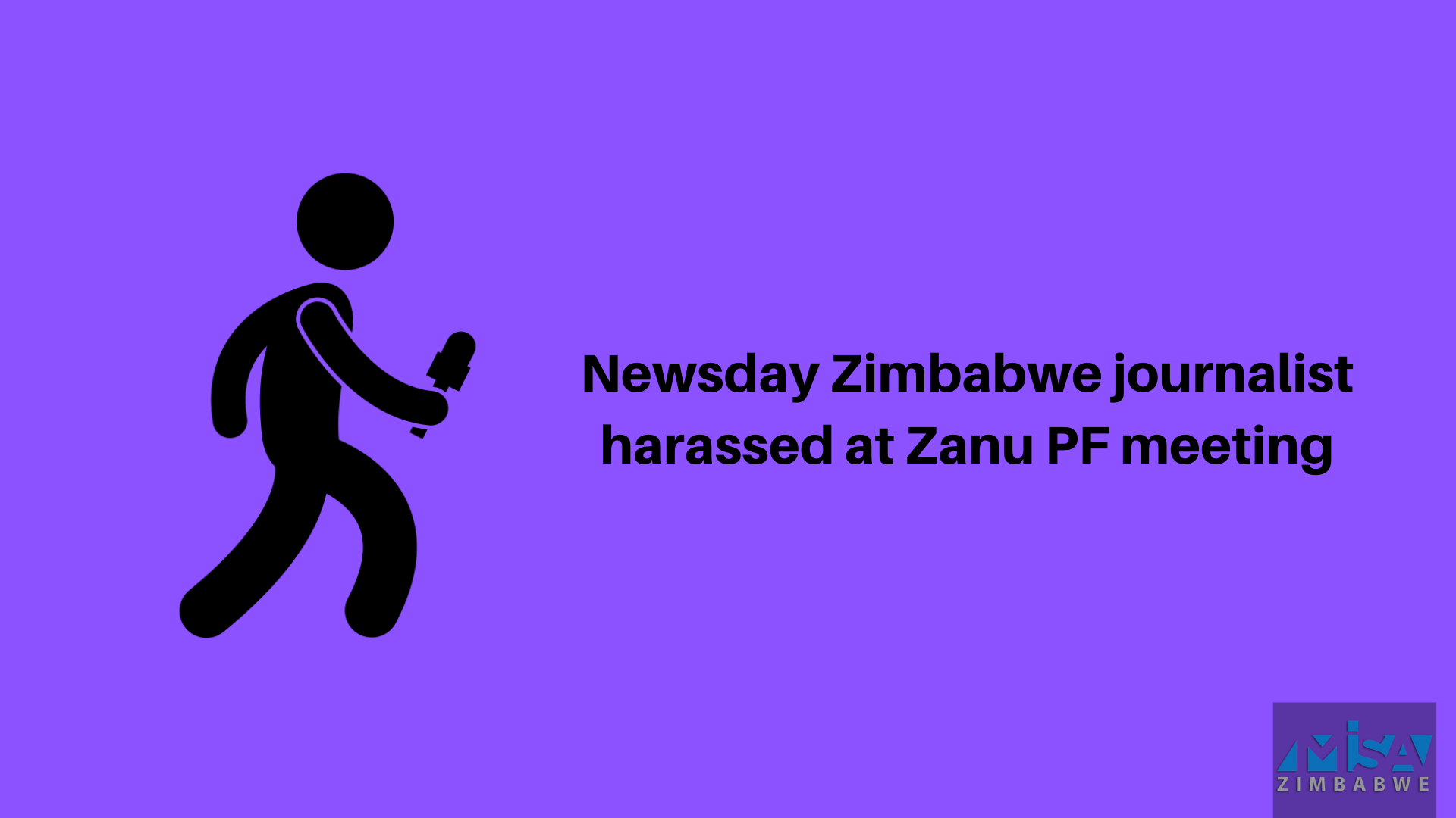 Newsday Zimbabwe journalist harassed at Zanu PF meeting