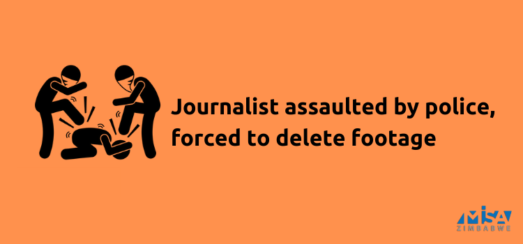 Journalist assaulted by police, forced to delete footage