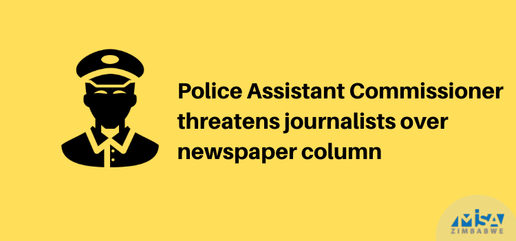 Police Assistant Commissioner threatens journalists over news column
