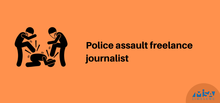 Police assault freelance journalist