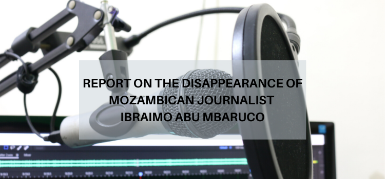 MISA Mozambique probes disappearance of radio journalist