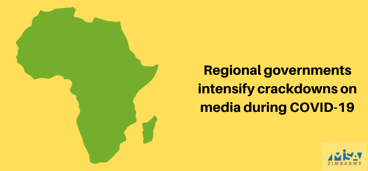 Regional governments intensify crackdowns on media during COVID-19