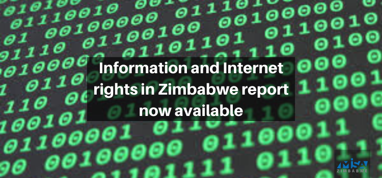 Information and Internet Rights in Zimbabwe report available now!