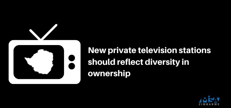 New private television stations should reflect diversity in ownership