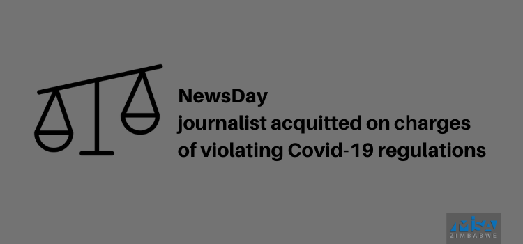 Journalist acquitted on charges of violating Covid-19 regulations
