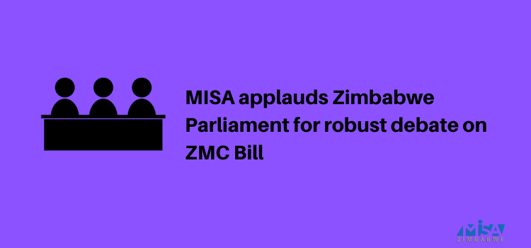 Zimbabwe Parliament, Zimbabwe Media Commission Bill
