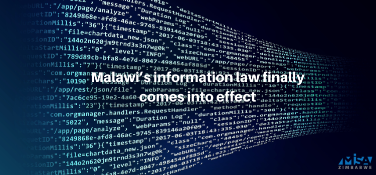 Malawi's information law finally comes into effect