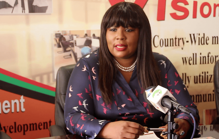 Dora Siliya- MInister of Information and Broadcasting Services. Picture courtesy of  ZambiaNews365