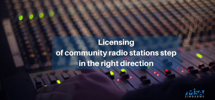 Licensing of community radio stations step in the right direction