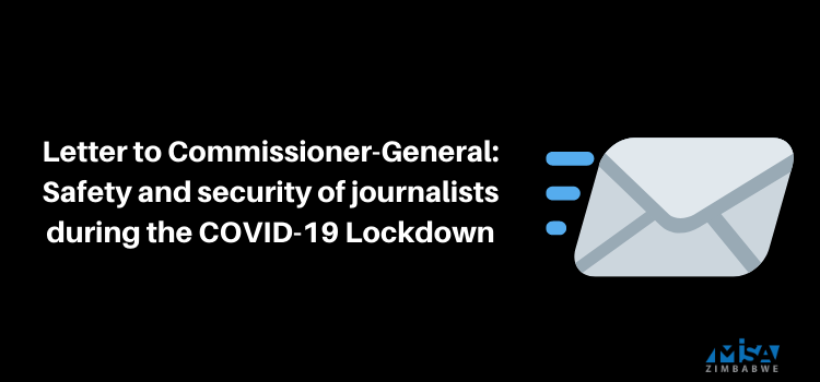 Safety and security of journalists during the COVID-19 Lockdown