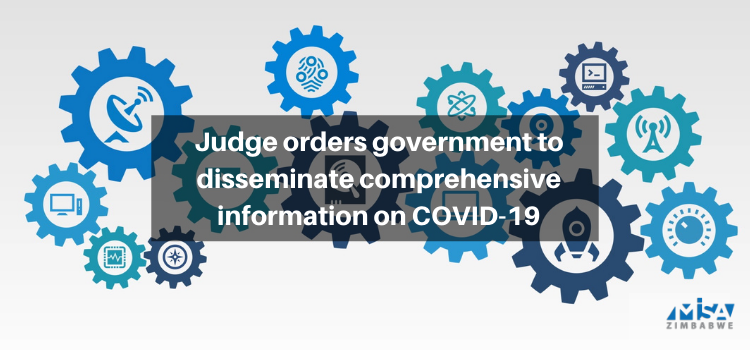 Judge orders government to disseminate comprehensive information on COVID-19