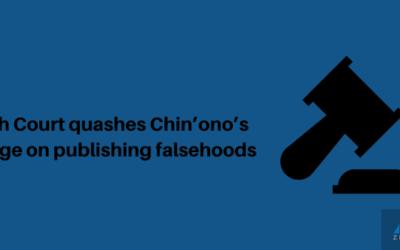 High Court quashes Chin'ono's charge on publishing falsehoods