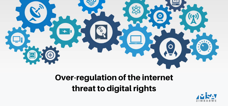 Over-regulation of the internet threat to digital rights