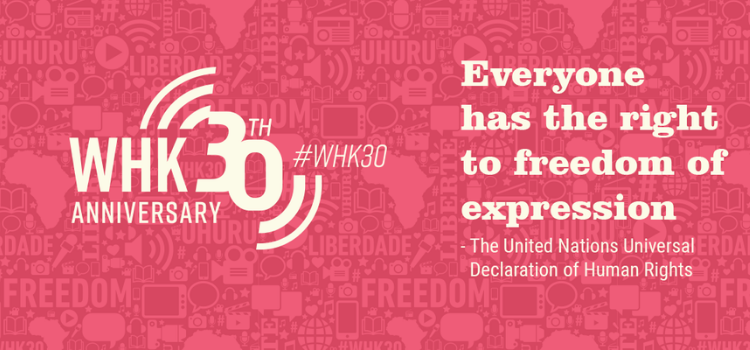 30th Anniversary of World Press Freedom Day