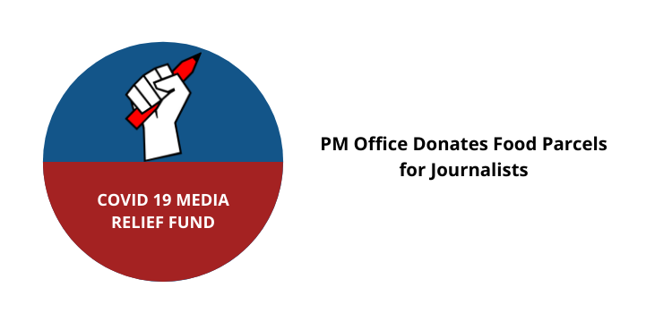 COVID-19 Media Relief Fund: PM Office Donates Food Parcels for Journalists