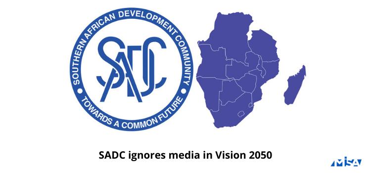 SADC ignores media in Vision 2050