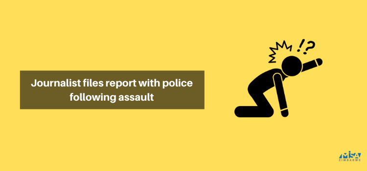 Journalist files report with police following assault